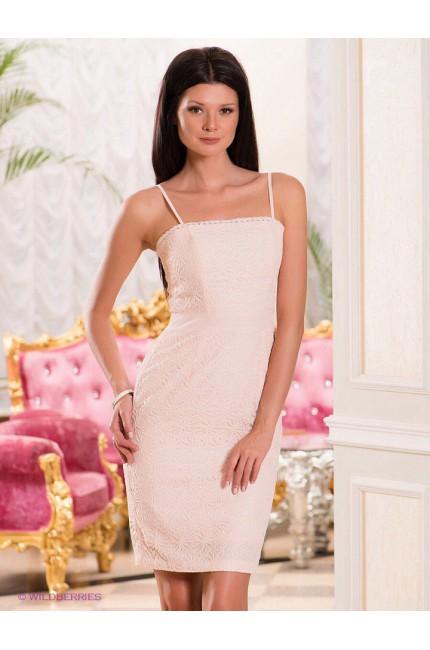 Розовое кружевное Платье FEVER (Англия)