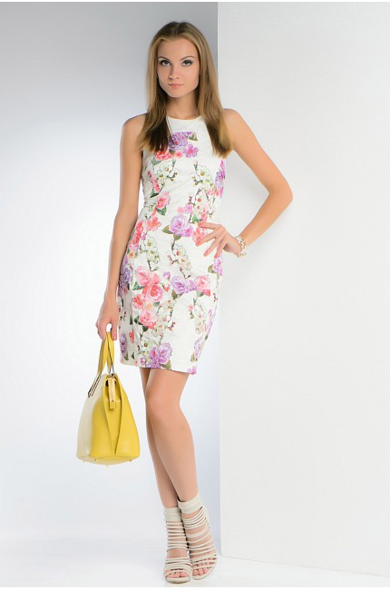 Короткое летнее платье FRENCH HINT