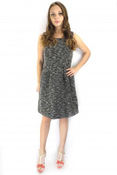 Повседневное платье-майка VILA серого цвета