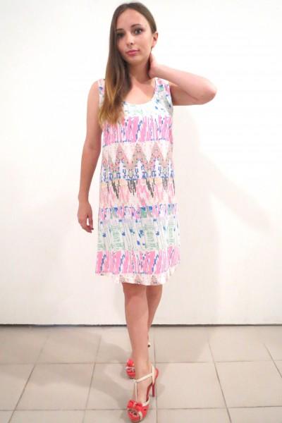 Светлое летнее платье Kaffe в оригинальном узоре