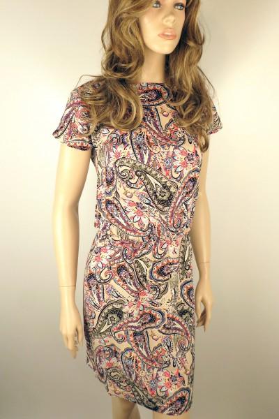 Хлопковое летнее платье FAQ FASHION с резинкой на талии