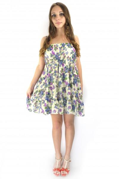 Летний сарафан-платье Lemon Beret с открытой спиной