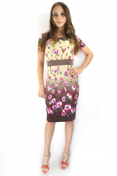Летнее светло-коричневое платье Arbor vitae
