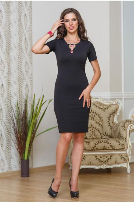Классическое черное платье Angela Ricci