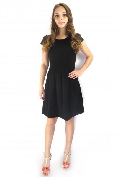 Черное повседневное платье RINASCIMENTO