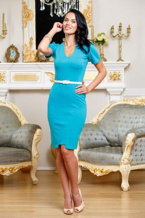 Небесно-голубое платье Angela Ricci