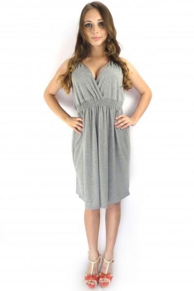 Легкое серое платье BLEND из вискозы