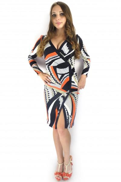 Платье Angela Ricci с запахом и красивым дизайном
