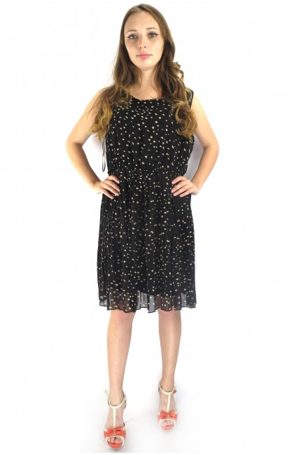 Коктейльное платье UTTAM LONDON черного цвета
