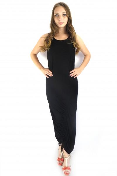 Черное платье OBJECT длины Миди