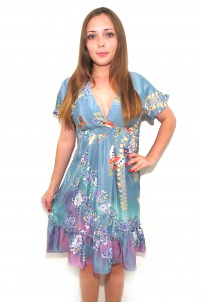 Свободное платье UTTAM BOUTIQUE небесного кроя