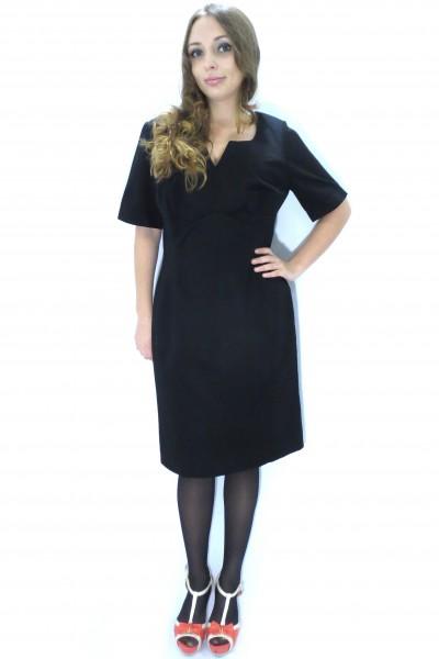 Черное платье Pepperberry футляр из хлопка