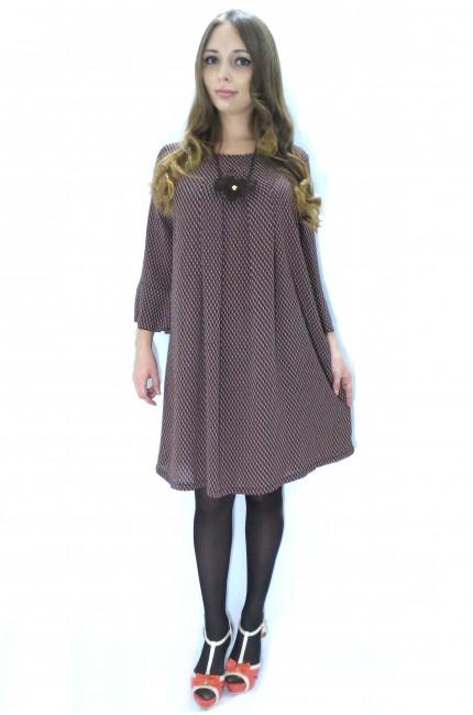 Платье туника RINASCIMENTO «гусиные лапки»